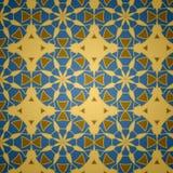 Reticolo senza giunte ornamentale islamico di vettore Fotografie Stock