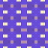 Reticolo senza giunte Ornamento geometrico multicolore con il rombo illustrazione vettoriale