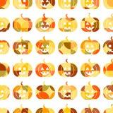 Reticolo senza giunte per Halloween Immagine Stock