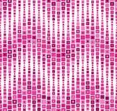 Reticolo senza giunte su una priorità bassa bianca Ha la forma di un'onda Consiste degli elementi geometrici Gli elementi hanno u Immagini Stock