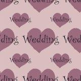 Reticolo senza giunte Wedding Fotografia Stock