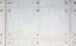 Reticolo simmetrico sulle tegole di cemento armato Immagini Stock Libere da Diritti