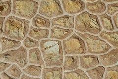 Reticolo spagnolo della parete dell'annata Fotografia Stock