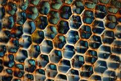Reticolo sporco di struttura del metallo Fotografia Stock