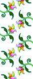 Reticolo/stampa floreali Immagini Stock