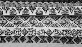 Reticolo tailandese tradizionale di arte di stile Immagine Stock Libera da Diritti