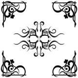 Reticolo tribale del tatuaggio Fotografie Stock