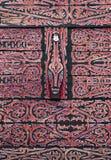 Reticolo tribale di arte del dayak Fotografia Stock Libera da Diritti