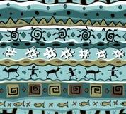 Reticolo tribale senza giunte Fotografie Stock