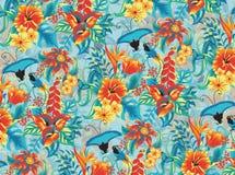 Reticolo tropicale illustrazione di stock