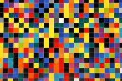 Reticolo variopinto delle mattonelle di mosaico Fotografia Stock Libera da Diritti