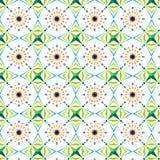Reticolo verde Immagini Stock