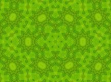 Reticolo verde astratto Fotografie Stock