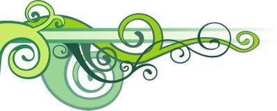 Reticolo verde di vettore Fotografia Stock