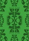 Reticolo verde senza giunte convenzionale di Edwardian Fotografie Stock Libere da Diritti