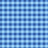 Reticolo verde senza giunte delle cellule (vettore) Struttura blu d'annata del tessuto del plaid Geometrico astratto Immagini Stock