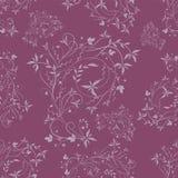 Reticolo viola senza giunte Fotografia Stock