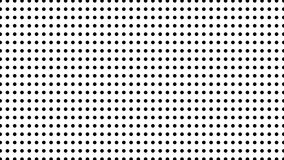 A reticulação de muitos pontos, fundo abstrato gerado por computador, 3D rende o contexto com efeito da ilusão ótica vídeos de arquivo