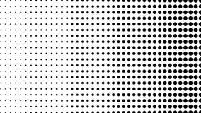 A reticulação de muitos pontos, fundo abstrato gerado por computador, 3D rende o contexto com efeito da ilusão ótica filme
