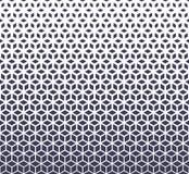 A reticulação roxa da grade da geometria sagrado abstrata cuba o teste padrão ilustração royalty free