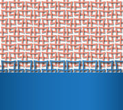 Reticulated red square pattern with space for text Royalty Free Stock Photography
