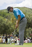Retief Goosen - Putting Out Royalty Free Stock Photo