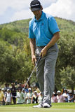 Retief Goosen - Putting Out Stock Images