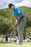 Retief Goosen - Putting Out Royalty Free Stock Image