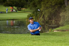 Retief Goosen - Sand Trap - NGC2009 Royalty Free Stock Photos