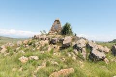 Monument for Big Trek centenary ox-wagon trek in 1938 Stock Images