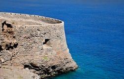 Retimno Schloss in Kreta stockfotos