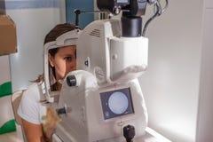Retinal kamera Arkivbild