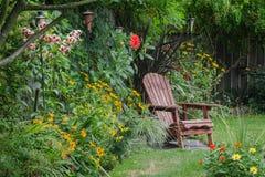 Retirada do quintal Fotos de Stock Royalty Free