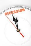 Retirada econômica Imagens de Stock
