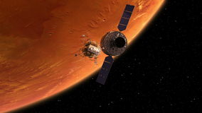 Retirar da estação espacial e do Lander filme