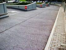 Retire de um estacionamento Foto de Stock Royalty Free