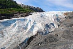 Retire a geleira Seward imagem de stock royalty free