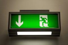 Retire o sinal na parede Imagens de Stock
