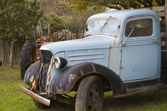Retired. A vintage and rusted truck Royalty Free Stock Images