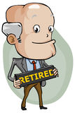 Retired Royalty Free Stock Photography
