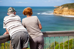 Retired. Couple enjoying their free time Royalty Free Stock Photography