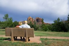 Retired in Arizona Stock Image