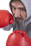 Retired boxing man Stock Photos