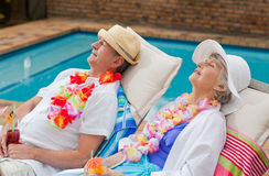 Retired couple Royalty Free Stock Image