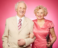 Retired couple Stock Photography