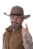 Retired cowboy Stock Photography