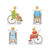 Retired elderly seniors Royalty Free Stock Images