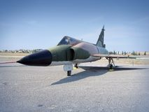 Retired fighter jet Royalty Free Stock Images