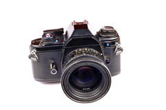 Retired film camera Stock Image