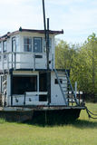 Retired houseboat Royalty Free Stock Image